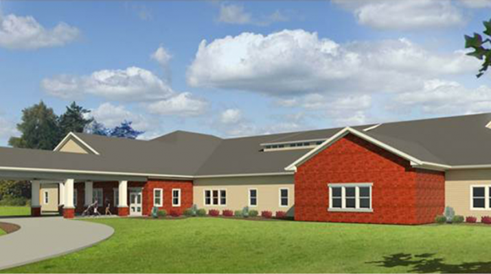 Architectural rendering of the new Golisano Autism Center in Rochester. The center will have multiple autism providers and is expected to serve upwards of 10,000 individuals with autism in the Rochester area within the first three to five years.
