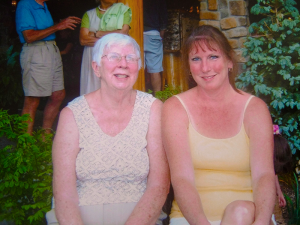 Ellie McGarigle and her daughter Debra Kostiw: Bad experience with elder abuse.