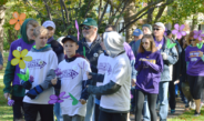 A recent Walk to End Alzheimer's event in the Finger Lakes. The Walk is one of the most popular events organized by Rochester chapter of Alzheimer's Association.