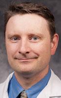 Christian Klein, ophthalmologist with UR Medicine's Flaum Eye Institute in Rochester.