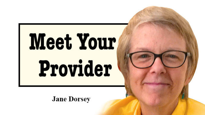 Jane Dorsey is a family nurse and board-certified lifestyle medicine practitioner, with a specialization in sleep disorders.