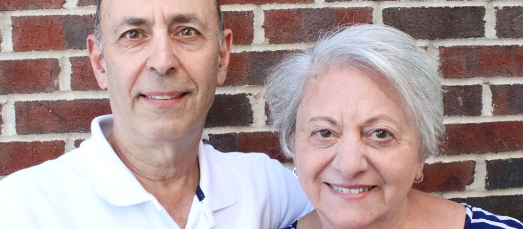 Bill and his wife, Giovanna Campomizzi May of Rochester. Giovanna recently published her first book discussing her years suffering from bipolar disorder. Her husband contributes to the book.