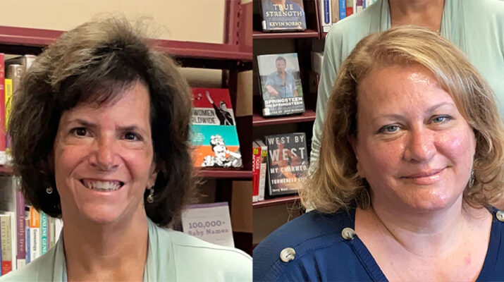 Gina Donnelly (top) and Kathy Jacobs own Entrusted Care.